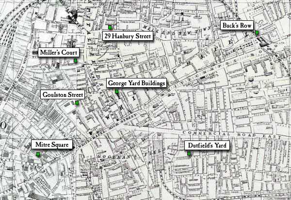Why didn't the people of Whitechapel like the police in 1888?